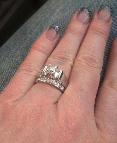 Ron Miller wedding gave Ricki this ring